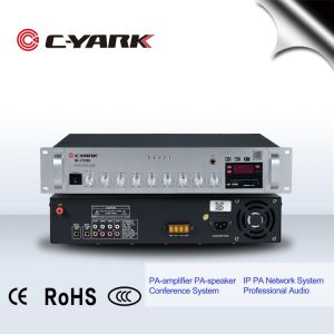 C-Yark Amplificateur mélangeur avec Bluetooth et USB Player