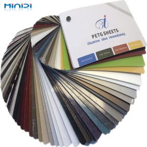 Высоко глянцевая ламинированные монохромный ПВХ пластиковый лист для окружающей среды в помещениях дома оформление