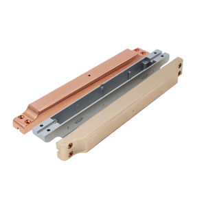 moulage sous pression en aluminium de précision personnalisé de la galvanoplastie partie pour les accessoires électroniques