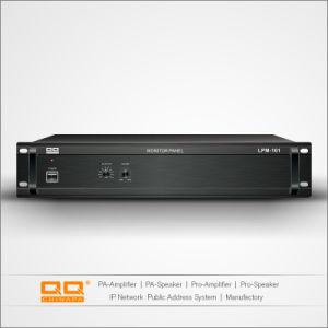 Lpm-101 Panel Monitor de 10 canales construidos en Amplificador altavoz Hi-Fi.