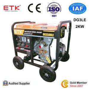 携帯用ディーゼル発電機With5HPエンジン(DG3LE)