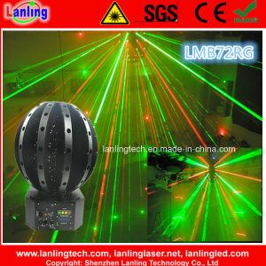 Potência elevada Beam-Storm Girando Discoteca Laser Magic Ball Cabeça Móvel