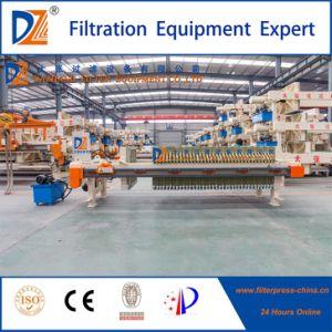 Macchina idraulica automatica della filtropressa della membrana