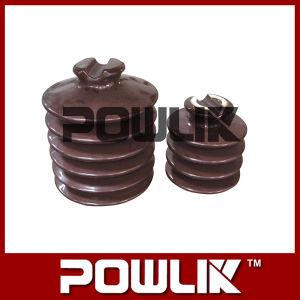 Isolador de pino de porcelana para a linha de alta tensão (PW-33, PW-15)
