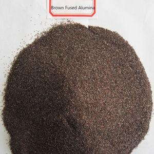 Bruine Gesmolten Alumina voor Schuurmiddelen & Vuurvast materiaal