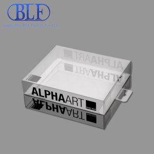 Прозрачный пластиковый ПВХ упаковке