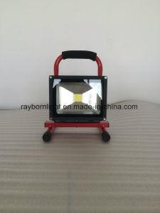 Indicatore luminoso ricaricabile portatile a pile esterno del lavoro di IP65 10W LED