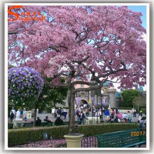 Rosa Artificial Barata Cherry Blossom Tree para decoração de jardim