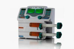 Equipos médicos, el canal de doble bomba de jeringa (BYZ-810T)