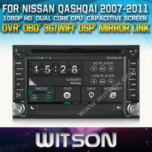 Witson Car DVD Radio für Nissans Qashqai (2007-2011) (W2-D8900N)