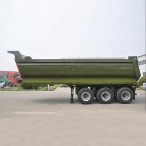 60ton 3axles Kipper-Schlussteil-Traktor-Speicherauszug-Schlussteil für Verkauf
