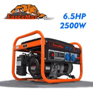 2500 와트 6.5 HP 휴대용 가솔린 발전기 (AG2500c)