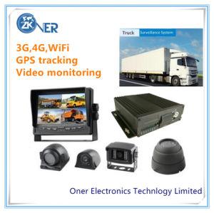 Car DVR GPS системы слежения с 4 камер автомобилей