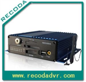 4chs Sd Card Mobile DVR, Suppot 1 CH D1 und 3 Chs CIF Resolution