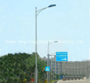De acero de alta calidad de Q345 Monopolar postes de alumbrado público