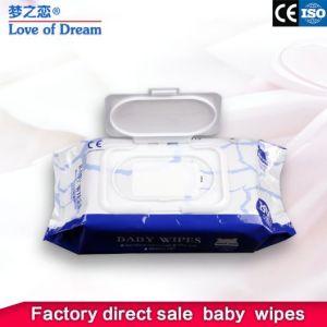 Fabrik-machten organische Reinigungs-Serviette-Binden-antibakterielle Servietten weich Wischer für Baby und Erwachsenen naß