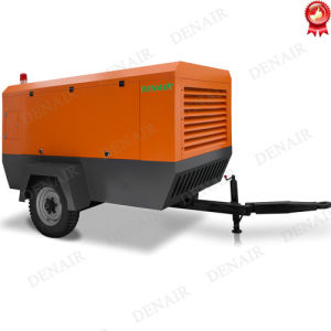 10m3/min con motor Diesel compresor de aire portátil para la perforación