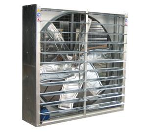 Ventilatore di scarico per l'azienda avicola