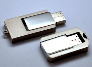 Шэньчжэнь Manufactory USB питания моды металлического поворотного флэш-накопитель USB