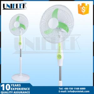 中国デザイン16 か18 太陽ライトが付いている立場のファン12V再充電可能で永続的なファンによって満たされる永続的なファン