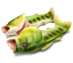 Nouveau produit OEM PVC Pantoufle de poissons de la plage créatif
