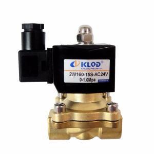 ニンポーの製造業者の熱い販売直動式AC24V水ソレノイド弁