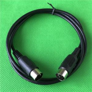 楽器のためのミディ5pin DINの男性プラグの可聴周波ケーブル