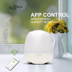 Controle de aplicativos de música Bluetooth Aroma difusor de óleo de Aromaterapia