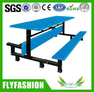 Горячая продажа прочного стекловолокна столовой в таблице и установить на стенде (DT-10)
