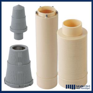 Sistemas de distribuição para tratamento de água