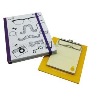 Специализированные печатные жесткий футляр канцелярские ноутбук с эластичной ленты