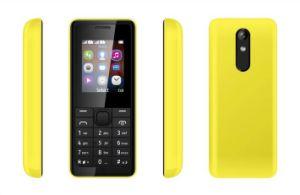 Telefone celular GSM de baixo custo, possuem telefone com 1,77 polegadas