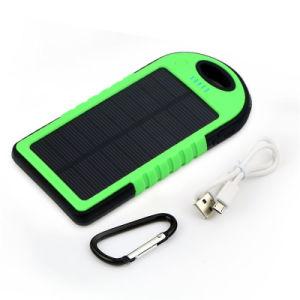 工場最も安い携帯用防水太陽電池の充電器力バンクの自在継手