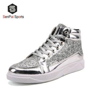 2020 Hotsell brilhante PU Calçado de moda de alta qualidade de Skate casual de calçado