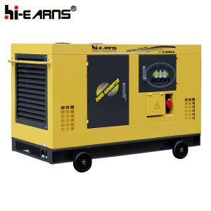 Quanchai中国のエンジン(GF2-30kVA)を搭載するWater-Cooledディーゼル発電機の無声タイプ