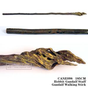 Hobbit Gandalf die Staffgandalf Stick185cm lopen