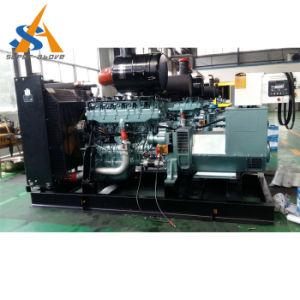 Generator 550kw angeschalten von Perkins Engine