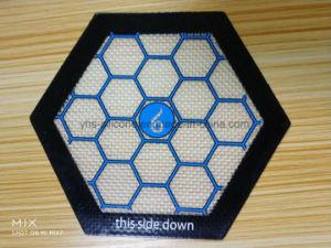 Hexagon Rokende Mat van het Silicone van de Glasvezel in Concurrerende Prijs
