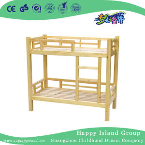 Les Enfants En Bois Rustique Lits Superposes Avec Escalier De L