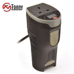 Pantalla digital de CC a CA Alquiler de inversor de potencia con 1 salidas de CA y 3.1A la doble salida USB