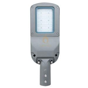 IP66 étanche 50-150W LED réglable Shoebox Domaine stationnement carré de la lumière de la rue pour l'extérieur de la route principale route d'éclairage sur le trottoir avec système de contrôle intelligent