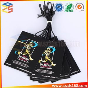 習慣のスポーツの服装の紙カードのデザイン及び印刷