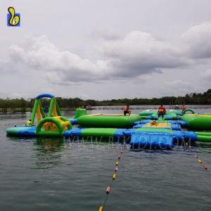 Inflables Parque Acuático personalizado flotante para deportes de agua juego