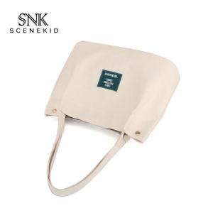 O tamanho padrão de impressão personalizado profissional Lona de Algodão Saco Sacola de Compras