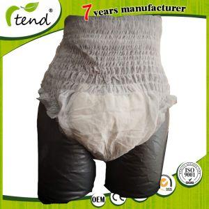 00424944ffb4 Los productos de incontinencia pañal desechable adulto Panty tire tamaño XL