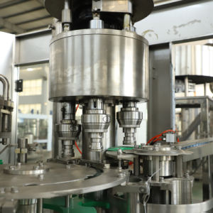 自動フルーツジュース水ペットびんの飲料の液体満ちるパッキングびん詰めにするパッケージ機械