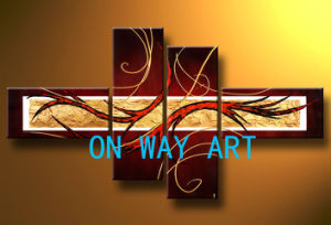 Het Abstracte Olieverfschilderij van de Kunst van Onway (OA-O18)
