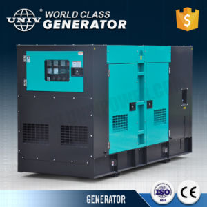 防音のタイプ100kVAのディーゼル発電機セット80kwのディーゼル発電機の予備品の値段表