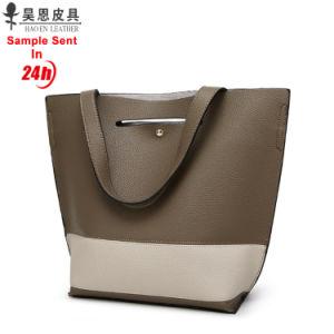 광저우 공장 2018 Tote Women Bag 새로운 PU 가죽 패션 디자이너 여성 숙녀