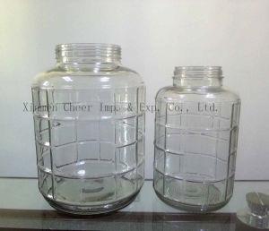 De Fles van het glas, de Container van de Opslag van het Voedsel